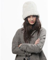 Wool And The Gang | White Moonhead Beanie | Lyst