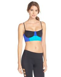 Onzie | Black Bustier Sports Bra | Lyst