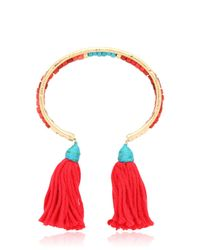 Aurelie Bidermann | Pink Sioux Beaded Bracelet | Lyst