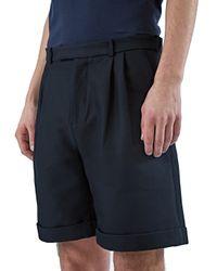J.W.Anderson - Black Double Pleat Shorts for Men - Lyst