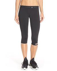 Adidas By Stella McCartney - Black Running Capris - Lyst