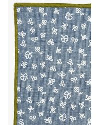 7 For All Mankind | Blue Pocket Square Clothing The Quinn Pocket Square In Light Chambray for Men | Lyst