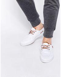 ASOS - Blue Boat Shoes for Men - Lyst