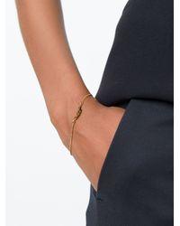 Saint Laurent | Metallic Love Charm Bracelet | Lyst