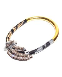 Shourouk - Multicolor Tiger Comet Necklace - Lyst
