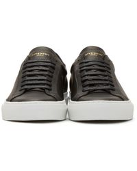 Givenchy - Black Codification Low-top Sneakers for Men - Lyst