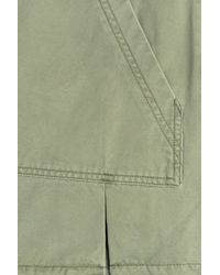 Marc By Marc Jacobs - Cotton Mini Skirt With Kangaroo Pocket - Green - Lyst
