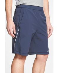 BPM Fueled by Zella | Blue 'graphite' Woven Running Shorts for Men | Lyst