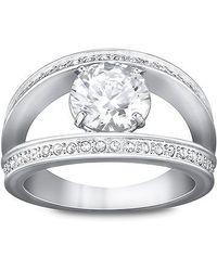 Swarovski | Metallic Vitality Ring | Lyst