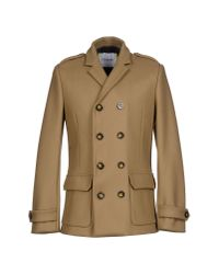 Iceberg - Natural Coat for Men - Lyst