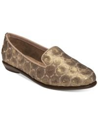 Aerosoles | Metallic Betunia Smoking Flats | Lyst