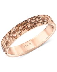 Swarovski - Metallic Viktor  Rolf Crystals Bangle Bracelet - Lyst