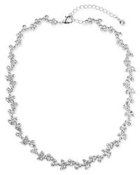 Givenchy | Metallic Silver-tone Crystal | Lyst