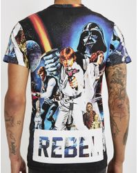 ELEVEN PARIS | Star Wars T-shirt Black for Men | Lyst