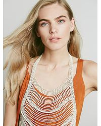 Free People - White Washed Ashore Body Piece - Lyst