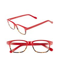 A.J. Morgan | Red 'nottingham' 48mm Reading Glasses | Lyst