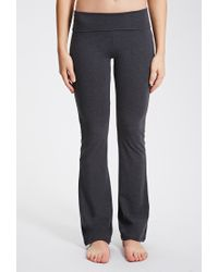 Forever 21 - Gray Active Heathered Yoga Pants - Lyst