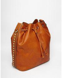 Fiorelli | Brown Rossini Drawstring Backpack | Lyst