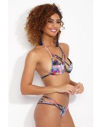 KEVA J - Multicolor Cotinga String Bikini Top - Lyst