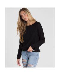 Billabong - Black Only The Sun Sweater - Lyst