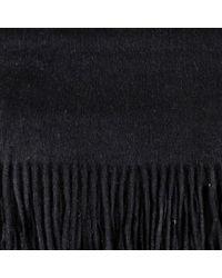 Black.co.uk - Black Cashmere Scarf for Men - Lyst