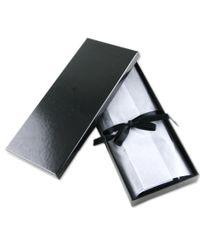 Black.co.uk - Blue Black Swarovski Crystal Studded Silk Tie for Men - Lyst