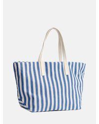 Baggu - Blue Weekend Bag_summer Stripe - Lyst