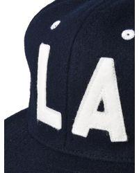 Ebbets Field Flannels Blue Los Angeles Angels 1954 Vintage Ballcap for men