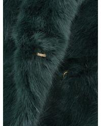 D.Efect - Green Duana Faux Fur Coat - Lyst