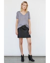 Blank NYC | Black Skirt | Lyst