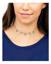 Gorjana | Multicolor Playa Beaded Tassel Choker Necklace | Lyst