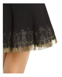 Elie Tahari - Black Christina Embellished Skirt - Lyst