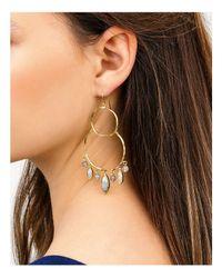 Gorjana - Metallic Eliza Gem Chandelier Earrings - Lyst