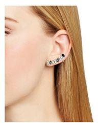 Rebecca Minkoff - Multicolor Glass Trellis Earrings - Lyst