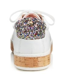 Kate Spade - White Women's Amy Platform Sneakers - Lyst