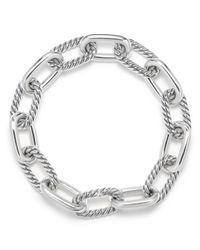 David Yurman - Metallic Madison Medium Chain Bracelet - Lyst