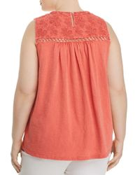 Lucky Brand - Multicolor Embroidered Tank - Lyst