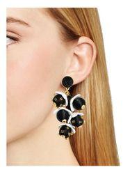 BaubleBar - Black Clarabel Drop Earrings - Lyst