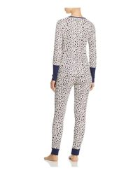 Splendid - Multicolor Intimates Printed Thermal Pajama Set - Lyst