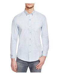 W.r.k.   Blue W.r.k. Reworked Slim Fit Button-down Shirt for Men   Lyst