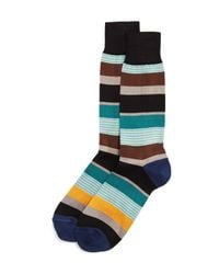Paul Smith - Multicolor Davis-stripe Socks for Men - Lyst