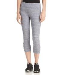 Marc New York - Multicolor Performance Space-dyed Cropped Leggings - Lyst