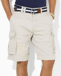 Pink Pony | Natural Polo Vintage Chino Gellar Fatigue Shorts for Men | Lyst