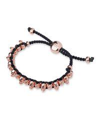 Links of London - Pink Skull Bracelet - Lyst