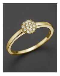Dana Rebecca - 14k Yellow Gold And Diamond Lauren Joy Mini Ring - Lyst