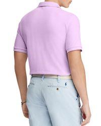Polo Ralph Lauren - Purple Classic Fit Short Sleeve Polo Shirt for Men - Lyst