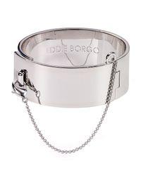 Eddie Borgo | Metallic Safety Chain Bangle | Lyst
