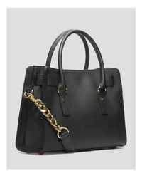 MICHAEL Michael Kors - Black Hamilton East West Satchel - Lyst