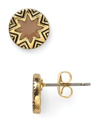 House of Harlow 1960 - Metallic Mini Sunburst Stud Earrings - Lyst