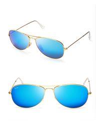 Ray-Ban | Metallic New Aviator Mirrored Sunglasses, 59mm for Men | Lyst